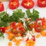 nutrition crudités couleurs