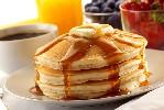 petit dejeuner pancakes