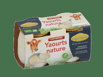 yaourt entier bio Bernard Gaborit