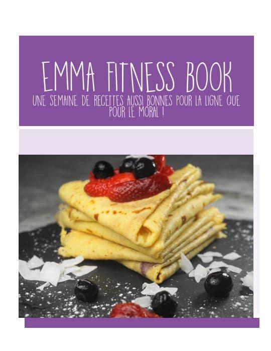 Emma Fitness Book, le livre de recettes pour perdre du poids
