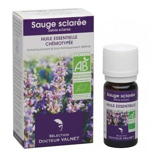 huile essentielle de sauge sclarée contre les troubles du sommeil de la ménopause